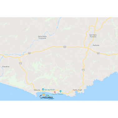 Map far away